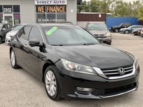 2013 Honda Accord for sale at Stanley Automotive Finance Enterprise - STANLEY DIRECT AUTO in Mesquite TX