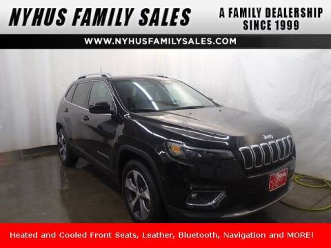 2019 Jeep Cherokee for sale at Nyhus Family Sales in Perham MN