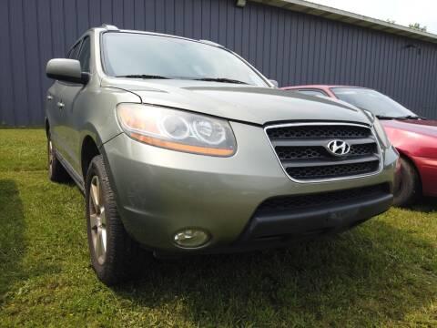 2008 Hyundai Santa Fe for sale at RS Motors in Falconer NY