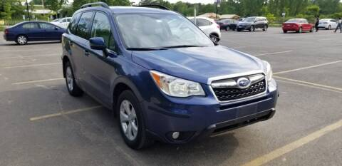 2014 Subaru Forester for sale at I-80 Auto Sales in Hazel Crest IL