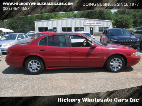 2004 Buick LeSabre for sale at Hickory Wholesale Cars Inc in Newton NC