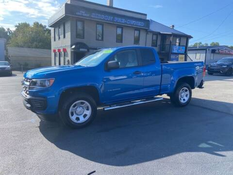 2021 Chevrolet Colorado for sale at Sisson Pre-Owned in Uniontown PA