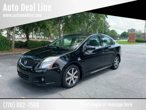 2012 Nissan Sentra for sale at Auto Deal Line in Alpharetta GA