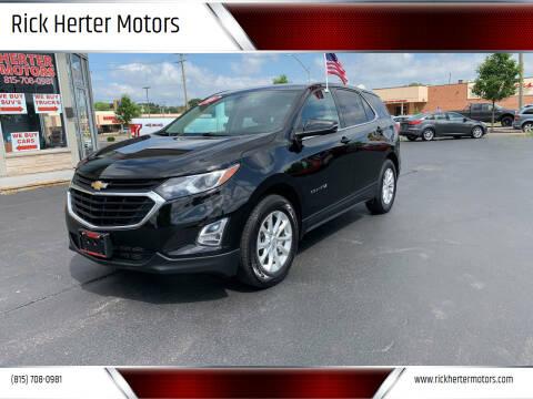 2019 Chevrolet Equinox for sale at Rick Herter Motors in Loves Park IL