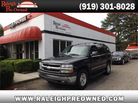 2004 Chevrolet Tahoe for sale at Raleigh Pre-Owned in Raleigh NC