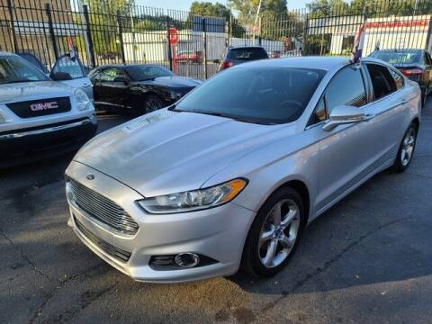 2013 Ford Fusion for sale at G & R Auto Sales in Detroit MI