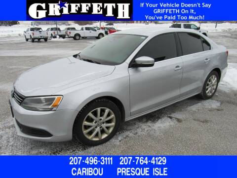 2014 Volkswagen Jetta for sale at Griffeth Mitsubishi - Pre-owned in Caribou ME