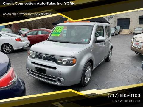 2010 Nissan cube for sale at Credit Connection Auto Sales Inc. YORK in York PA