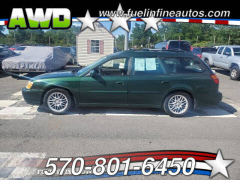 2003 Subaru Legacy for sale at FUELIN FINE AUTO SALES INC in Saylorsburg PA