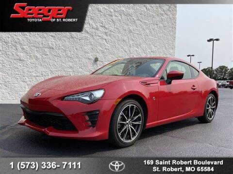2020 Toyota 86 for sale at SEEGER TOYOTA OF ST ROBERT in Saint Robert MO