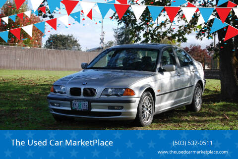 1999 BMW 3 Series for sale at The Used Car MarketPlace in Newberg OR