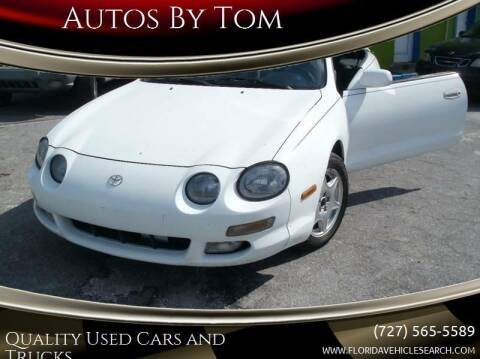 1996 Toyota Celica for sale at Autos by Tom in Largo FL