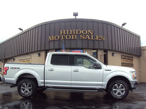 2018 Ford F-150 for sale at Hibdon Motor Sales in Clinton Township MI