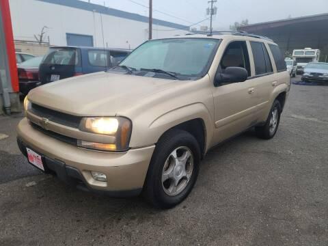 2005 Chevrolet TrailBlazer for sale at Kingz Auto LLC in Portland OR