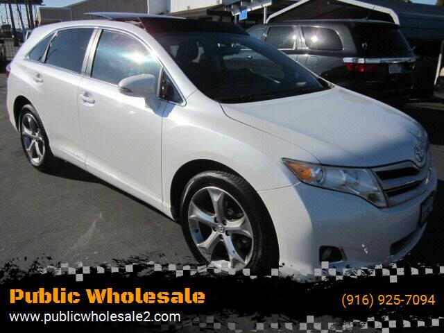 2013 Toyota Venza for sale at Public Wholesale in Sacramento CA