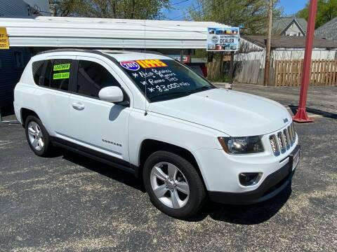 2015 Jeep Compass for sale at PEKIN DOWNTOWN AUTO SALES in Pekin IL
