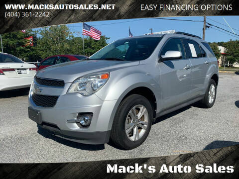 2011 Chevrolet Equinox for sale at Mack's Auto Sales in Forest Park GA