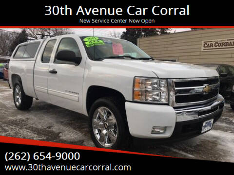 2011 Chevrolet Silverado 1500 for sale at 30th Avenue Car Corral in Kenosha WI