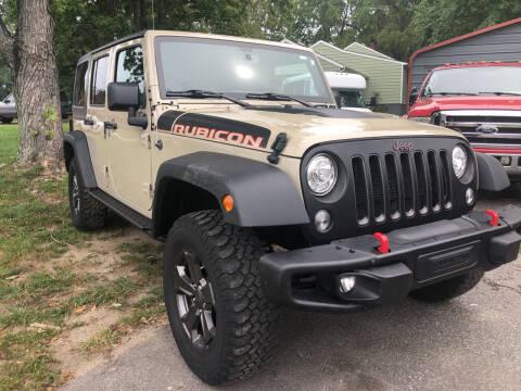 2018 Jeep Wrangler JK Unlimited for sale at Creekside Automotive in Lexington NC