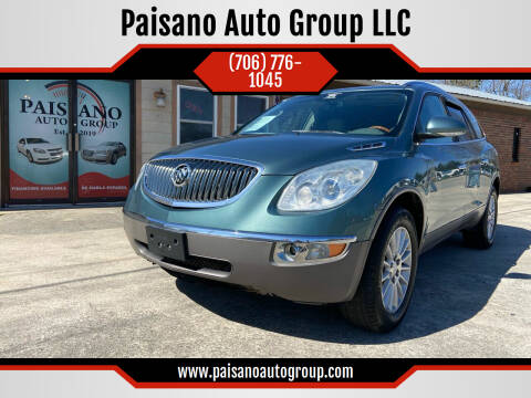 2009 Buick Enclave for sale at Paisano Auto Group LLC in Cornelia GA