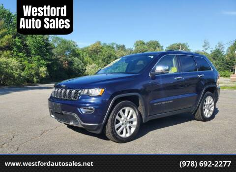 2017 Jeep Grand Cherokee for sale at Westford Auto Sales in Westford MA
