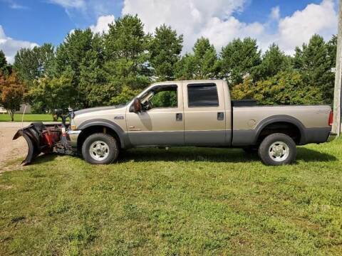 2003 Ford F-250 Super Duty for sale at Toy Barn Motors in New York Mills MN