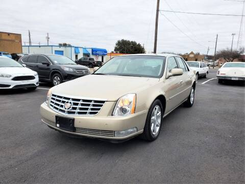 2007 Cadillac DTS for sale at Image Auto Sales in Dallas TX