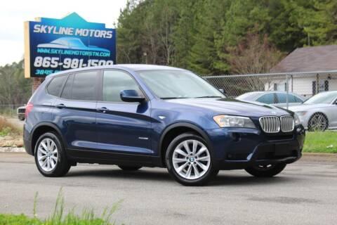 2014 BMW X3 for sale at Skyline Motors in Louisville TN