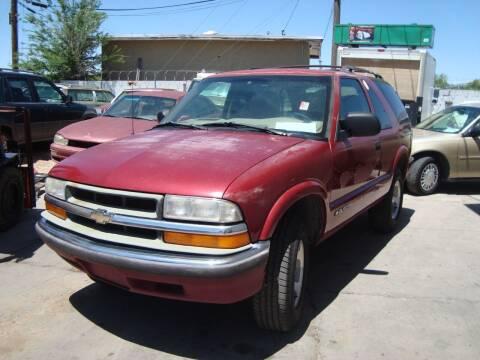 2000 Chevrolet Blazer for sale at One Community Auto LLC in Albuquerque NM