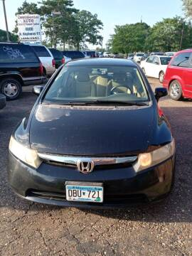 2006 Honda Civic for sale at Continental Auto Sales in White Bear Lake MN