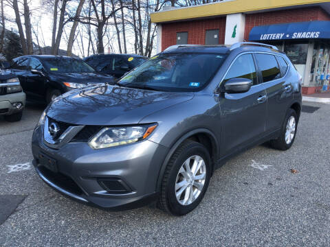 2016 Nissan Rogue for sale at Barga Motors in Tewksbury MA