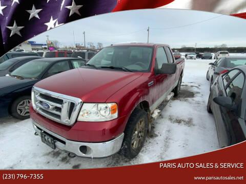 2008 Ford F-150 for sale at Paris Auto Sales & Service in Big Rapids MI