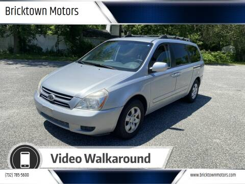 2006 Kia Sedona for sale at Bricktown Motors in Brick NJ