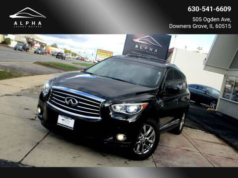 2014 Infiniti QX60 for sale at Alpha Luxury Motors in Downers Grove IL