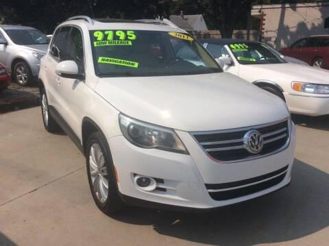 2011 Volkswagen Tiguan for sale at Harrison Family Motors in Topeka KS