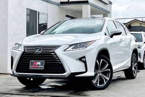 2019 Lexus RX 350 for sale at Fastrack Auto Inc in Rosemead CA