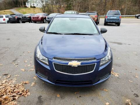 2013 Chevrolet Cruze for sale at DISCOUNT AUTO SALES in Johnson City TN