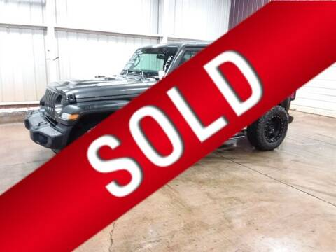 2020 Jeep Wrangler Unlimited for sale at East Coast Auto Source Inc. in Bedford VA