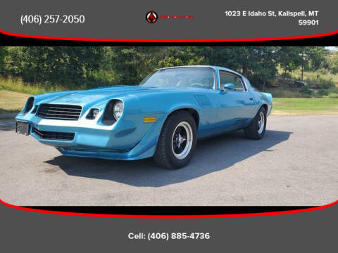 1979 Chevrolet Camaro for sale at Auto Solutions in Kalispell MT