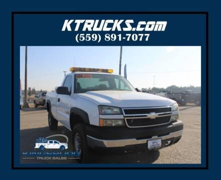 2007 Chevrolet Silverado 2500HD Classic for sale at Kingsburg Truck Center in Kingsburg CA