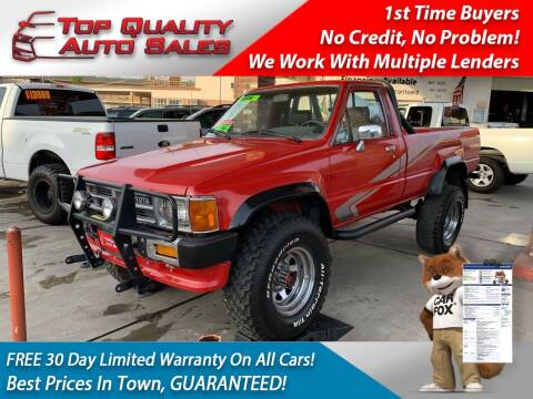 1988 Toyota Pickup for sale at Top Quality Auto Sales in Redlands CA