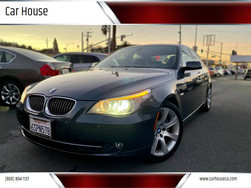 2008 BMW 5 Series for sale at Car House in San Mateo CA