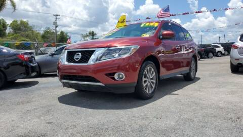 2015 Nissan Pathfinder for sale at GP Auto Connection Group in Haines City FL