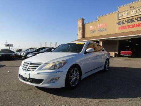 2012 Hyundai Genesis for sale at Import Motors in Bethany OK