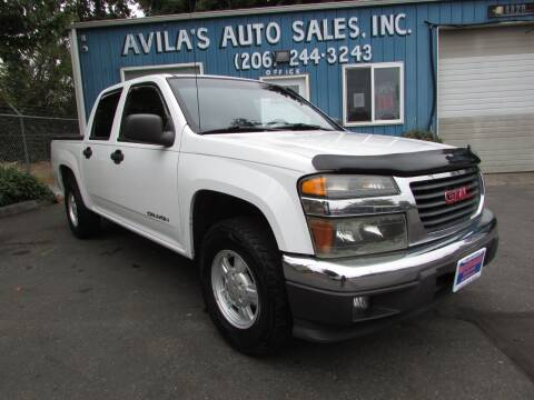 2005 GMC Canyon for sale at Avilas Auto Sales Inc in Burien WA