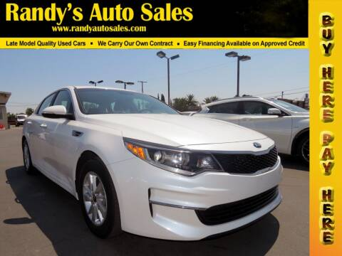 2016 Kia Optima for sale at Randy's Auto Sales in Ontario CA