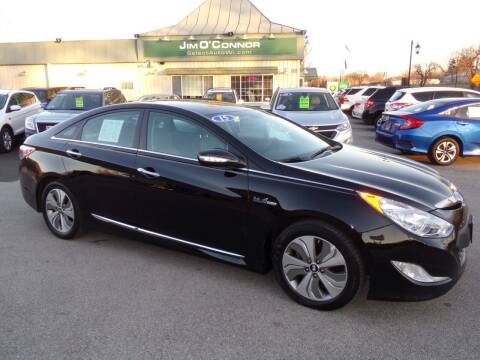 2015 Hyundai Sonata Hybrid for sale at Jim O'Connor Select Auto in Oconomowoc WI