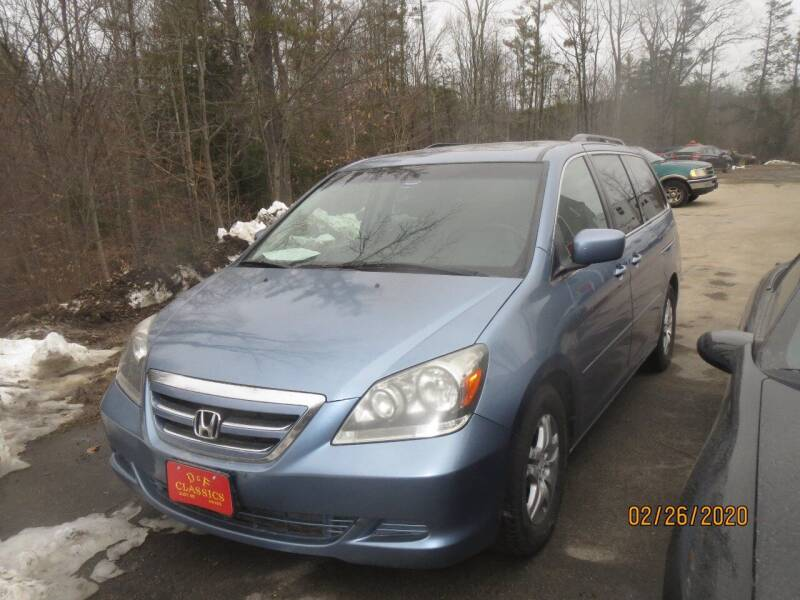 2007 Honda Odyssey for sale at D & F Classics in Eliot ME