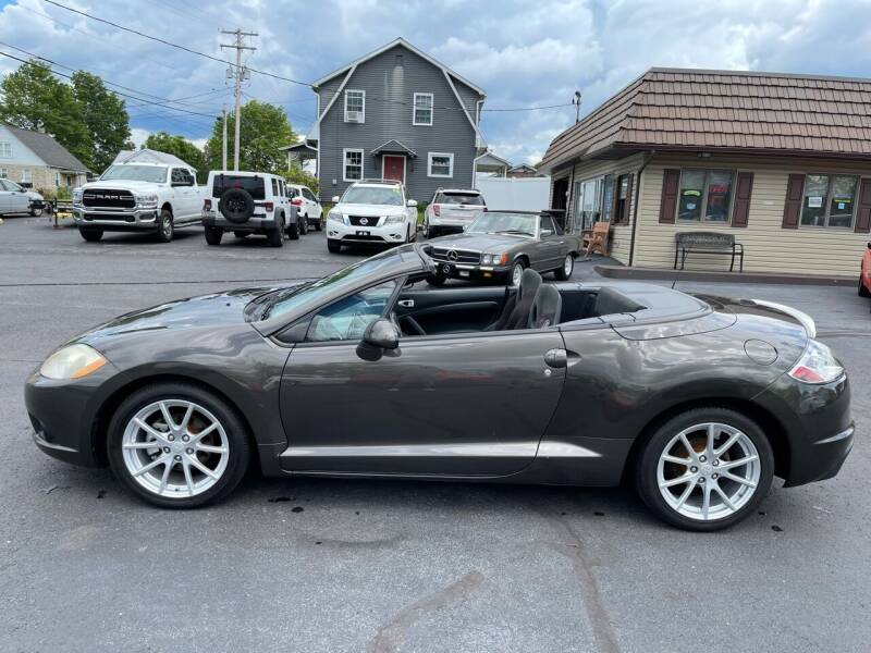 2012 Mitsubishi Eclipse Spyder for sale in Reedsville, PA