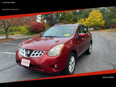 2013 Nissan Rogue for sale at S & D Auto Sales in Maynard MA
